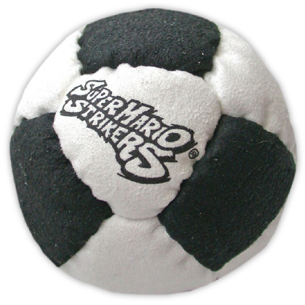Custom 14 Panel Logo Suede Footbag Hacky Sack