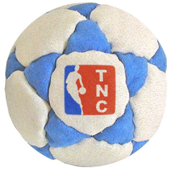 Customized 32 Panel Logo Suede Footbag Hacky Sack