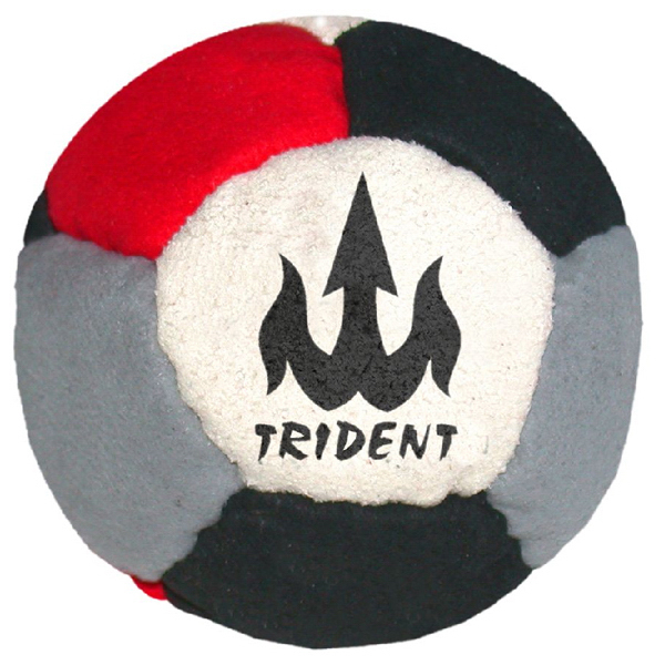 Promotional 12 Panel Logo Suede Footbag Hacky Sack