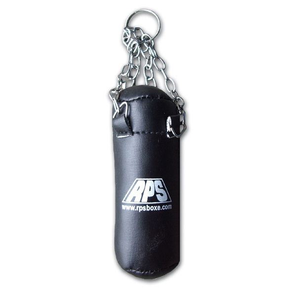 Printed Tall Punching Bag with Chain Hanger Keychain