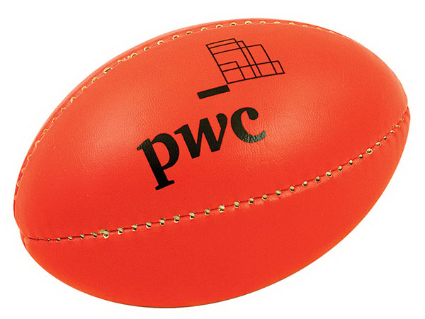 "Promotional 8"" Mini Rugby Ball"