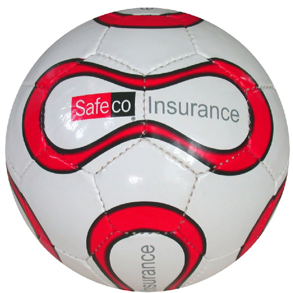 "Imprinted 6"" Size Mini Soccer Ball, 32 Panel"