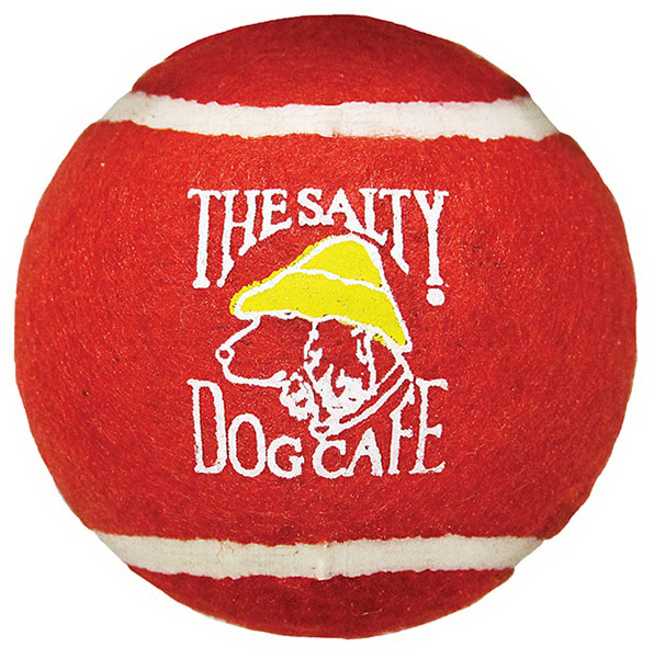 Printed Dog Toy Tennis Ball