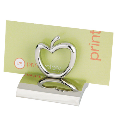 Promotional Apple Business Card Holder