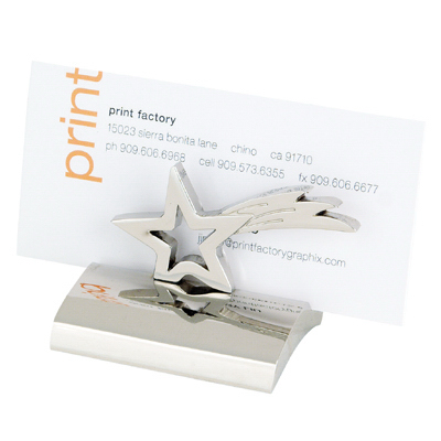 Customized Star Business Card Holder