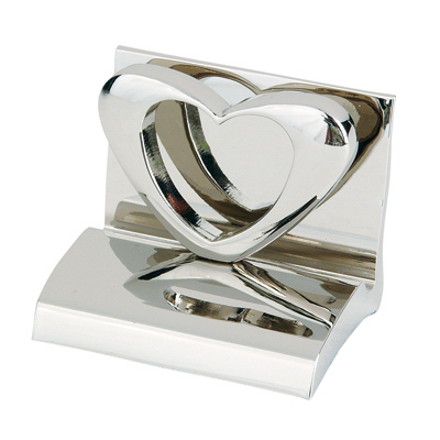 Custom Heart Business Card Holder