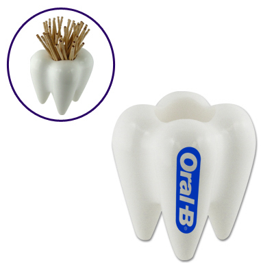 Imprinted Toothpick Holder