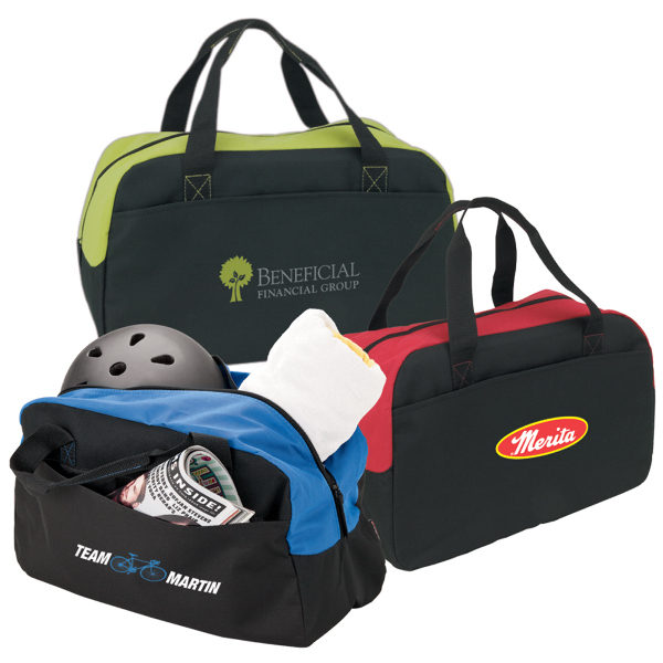 Imprinted Get Physical Duffel Bag