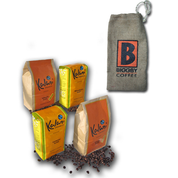 Custom Mini Gift Bag With Organic Coffee