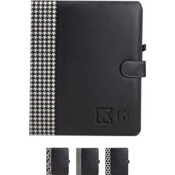 Printed Lamis Standard Folder With Design Accents