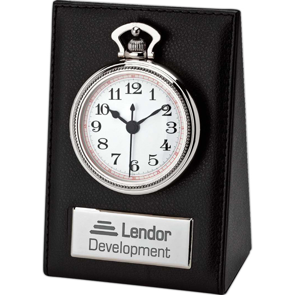 Personalized Pocket watch with desktop stand