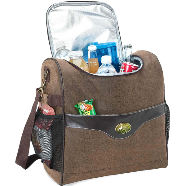 Imprinted 30-can cooler bag