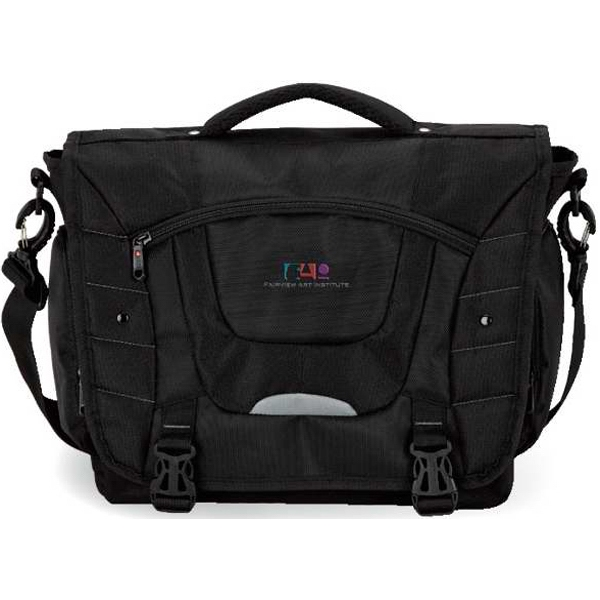 Imprinted Executive messenger bag