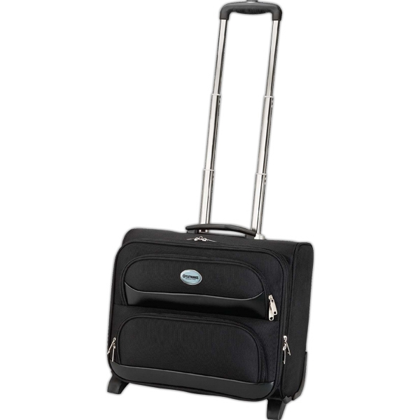 Imprinted Rolling executive travel case