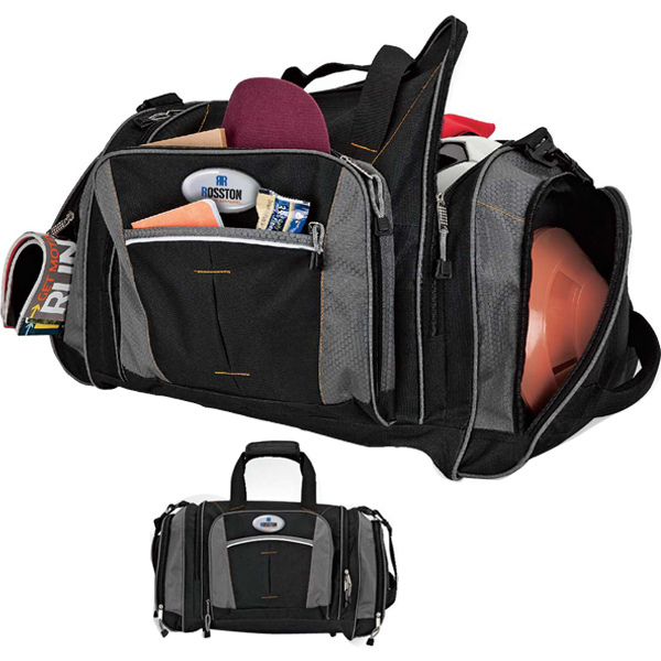 Personalized Large sports duffel bag