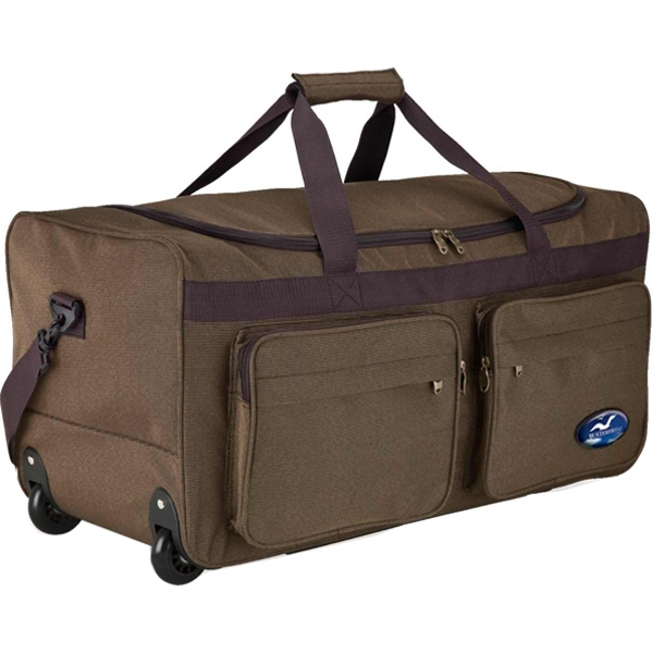 Promotional Rolling travel duffel bag
