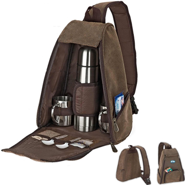 Personalized Sling bag coffee set
