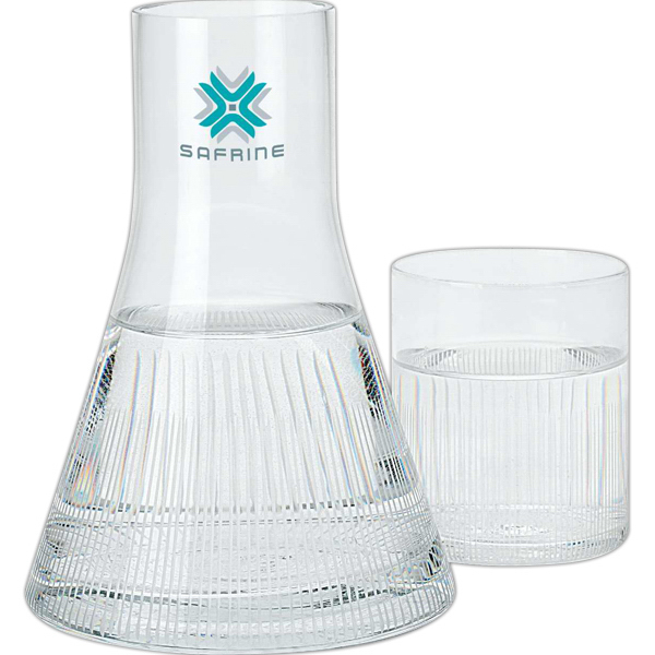 Personalized Executive desktop decanter and glass set