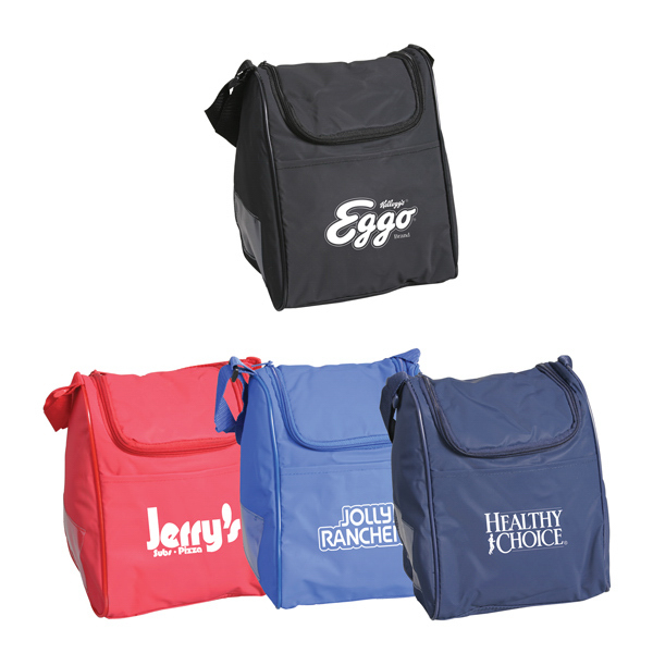 Personalized Pyramid Shaped Lunch Bag
