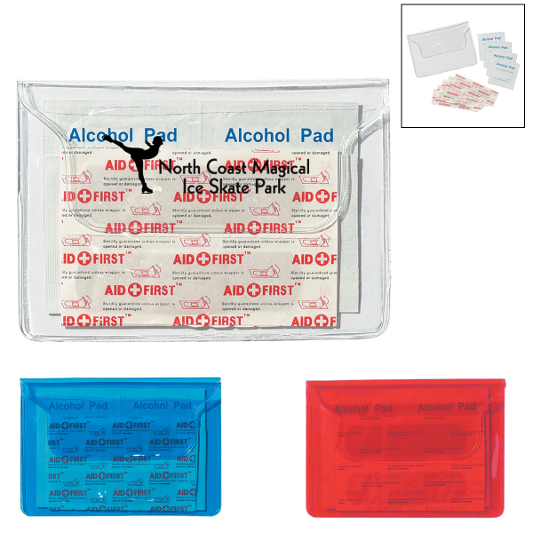 Printed First Aid Pouch