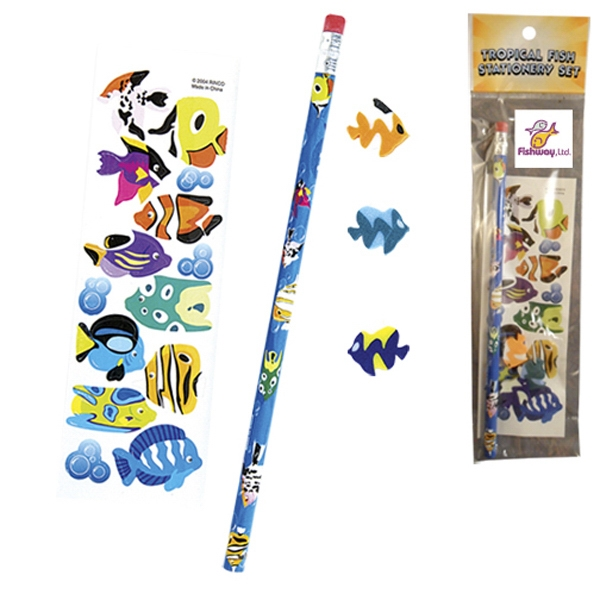 Customized Stationery Set - Fish