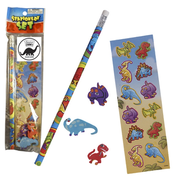 Promotional Stationery Set - Dinosaurs