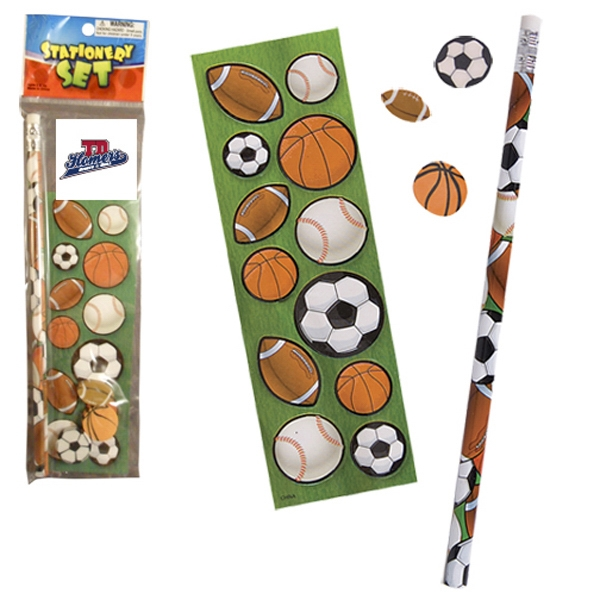 Customized Stationery Set - Sport Balls