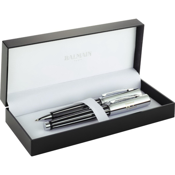 Promotional Balmain (R) Narbonne Pen Set