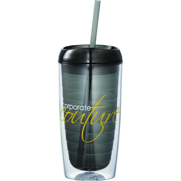 Imprinted Vortex Tumbler 16 oz