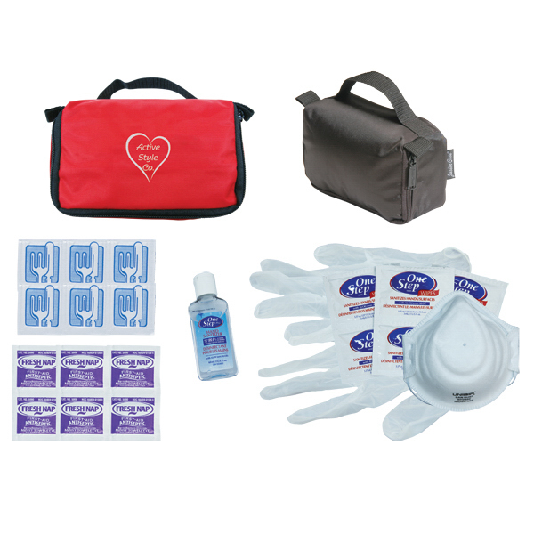 Imprinted Basic Personal Protection Kit