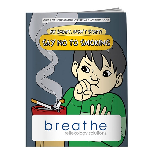 Custom Coloring Book: Say NO to Smoking