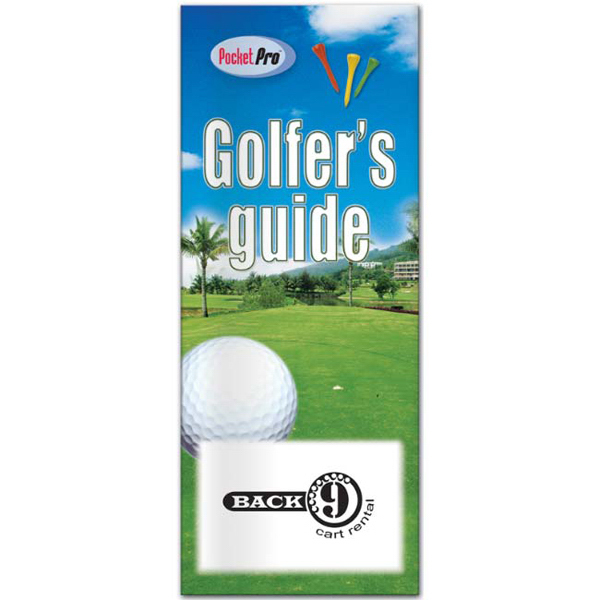 Imprinted Pocket Pro: Golfer's Guide