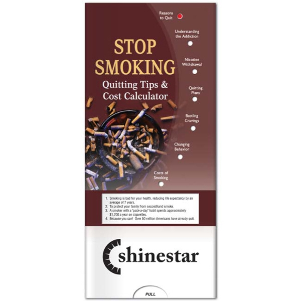 Printed Pocket Slider: Stop Smoking