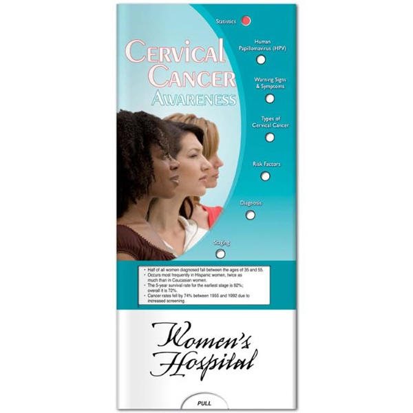 Printed Pocket Slider: Cervical Cancer