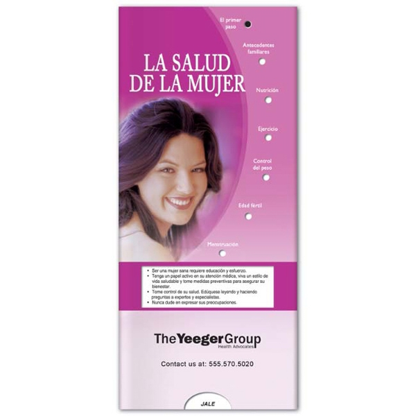 Printed Pocket Slider: Women's Health (Spanish)