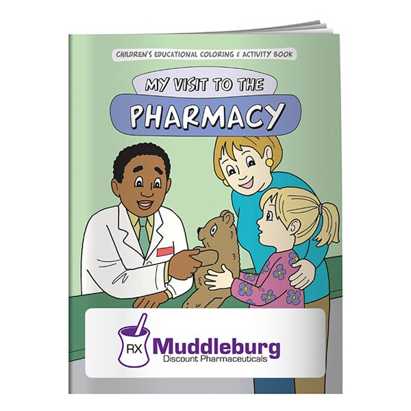 Custom Coloring Book: My Visit to the Pharmacy