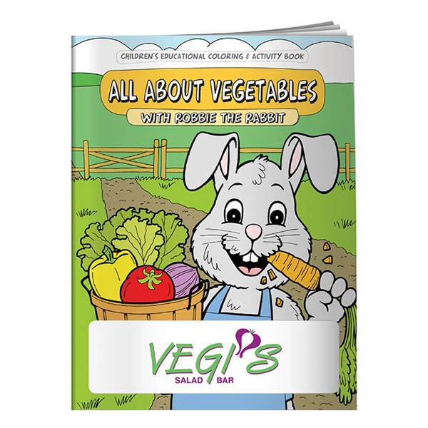 Promotional Coloring Book: All About Vegetables