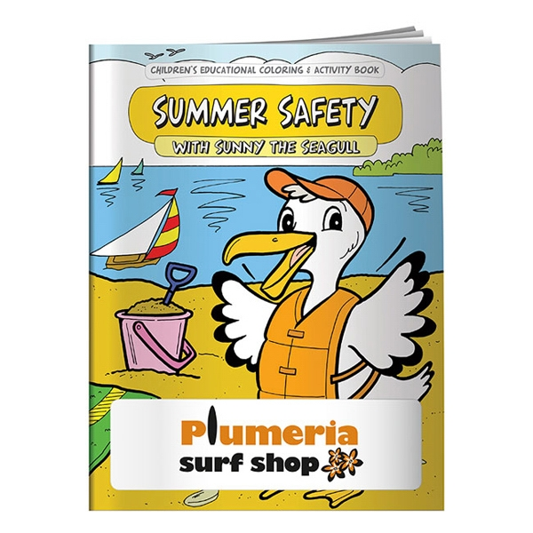 Personalized Coloring Book: Summer Safety