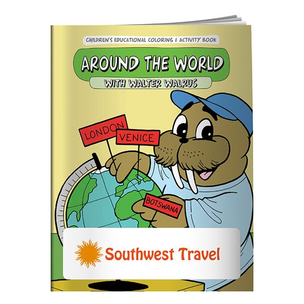 Promotional Coloring Book: Around the World