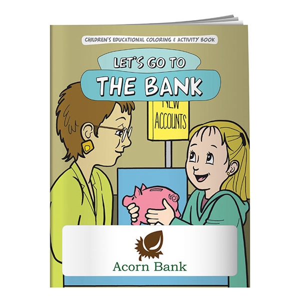 Promotional Coloring Book: Let's Go to the Bank