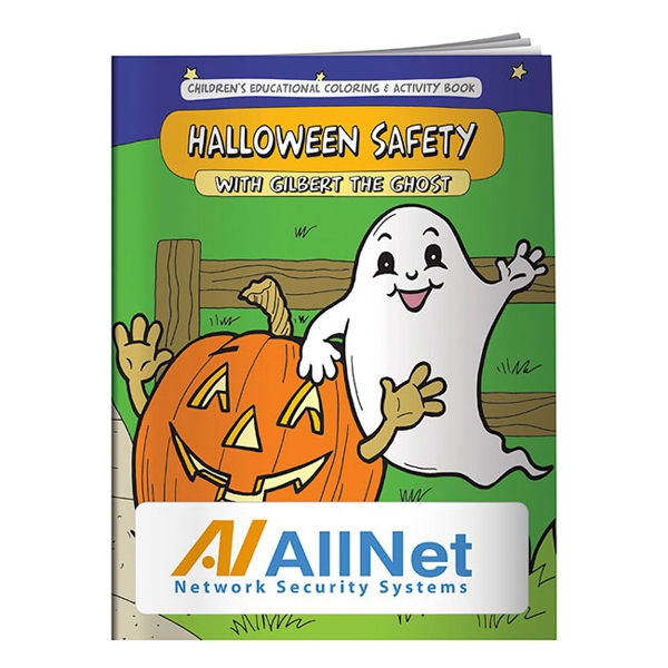 Custom Coloring Book: Halloween Safety