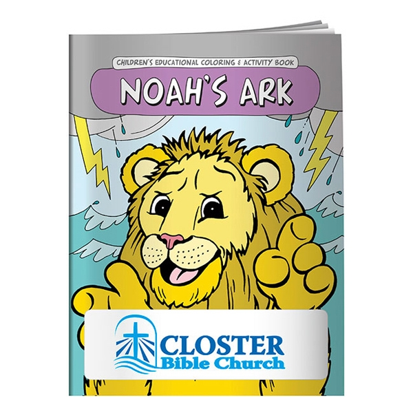 Printed Coloring Book: Noah's Ark