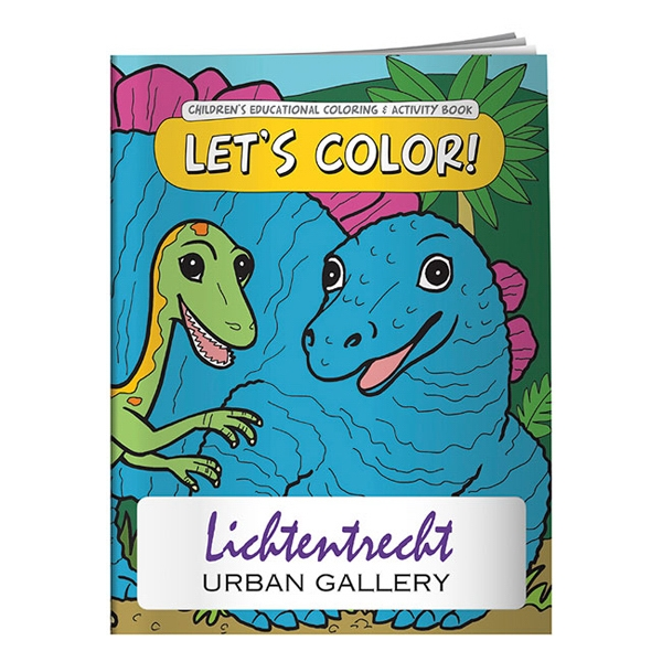 Custom Coloring Book: Let's Color!