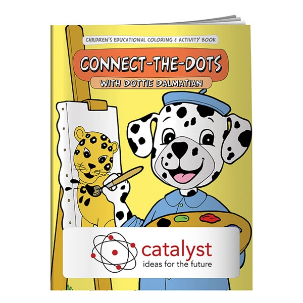 Promotional Coloring Book: Connect-the-Dots