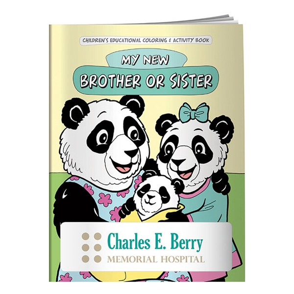 Personalized Coloring Book: My New Brother or Sister