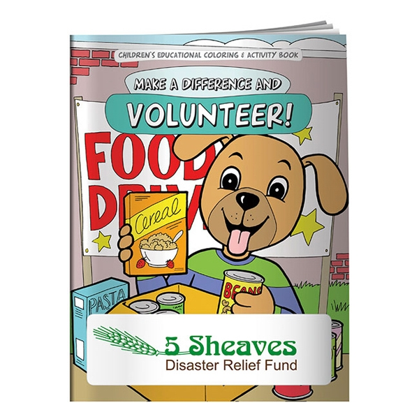 Promotional Coloring Book: Make a Difference and Volunteer
