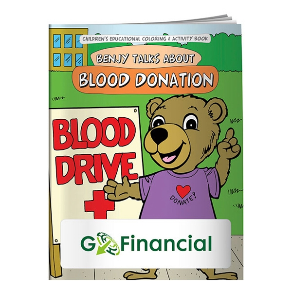 Promotional Coloring Book: Blood Donation