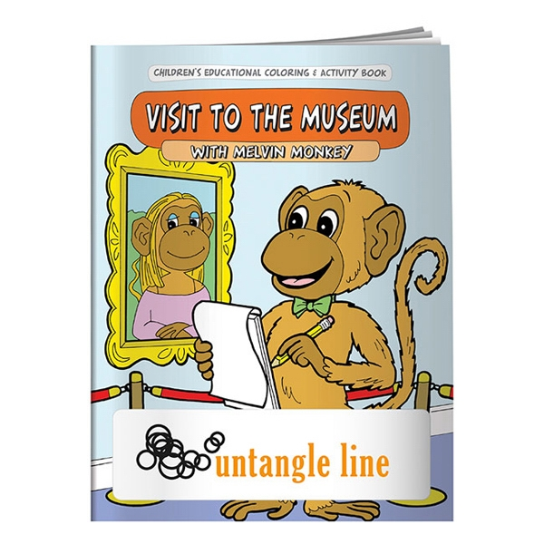 Personalized Coloring Book: My Visit to the Museum