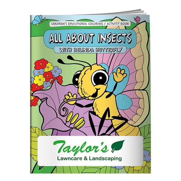 Personalized Coloring Book: All About Insects