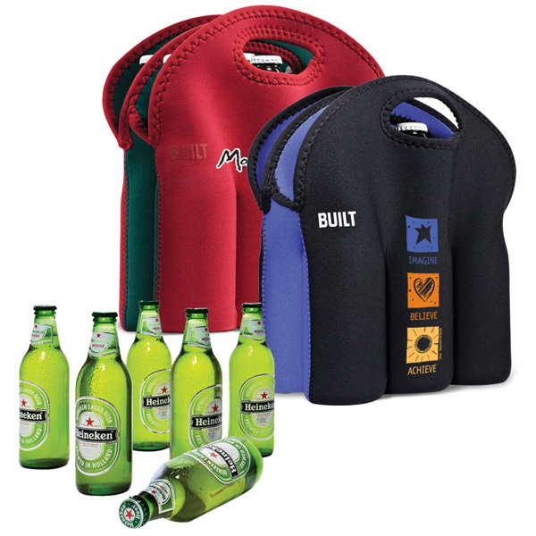 Customized Built (R) Six Pack Tote